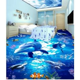 Gạch 3D lót sàn - S101