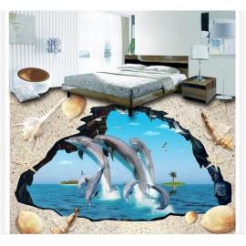 Gạch 3D lót sàn - S091