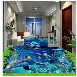 Gạch 3D lót sàn - S102