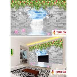 Gạch 3D ốp tường - T581
