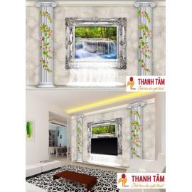 Gạch 3D ốp tường - T588