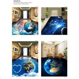 Gạch 3D lót sàn (tổng hợp 1)