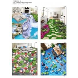 Gạch 3D lót sàn ( tổng hợp 5 )