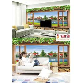 Gạch 3D ốp tường - T635