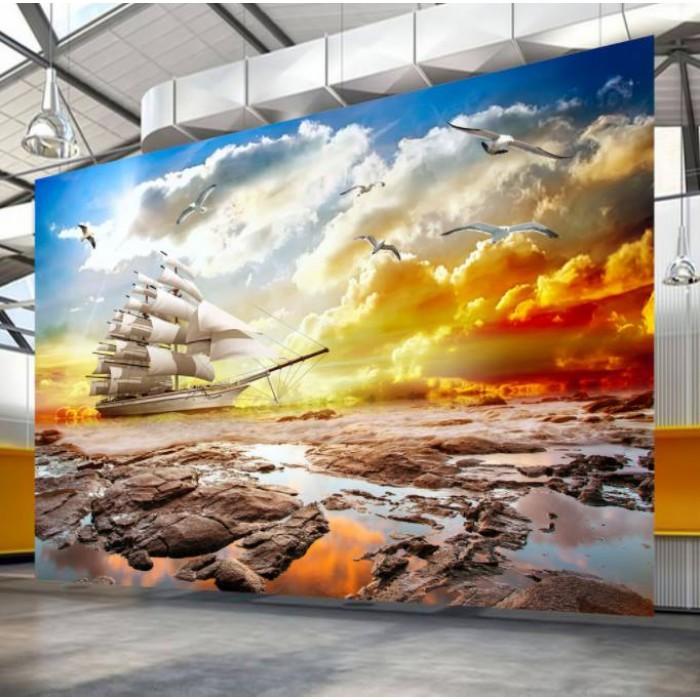 Gạch 3D ốp tường - T767