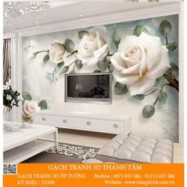 Gạch 3D Phòng Khách -T2109