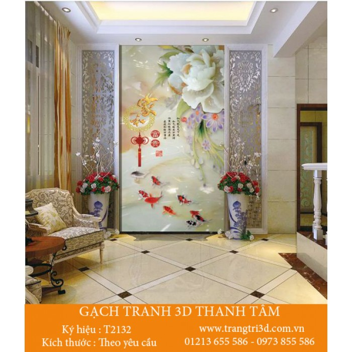 Gạch 3D Phòng Khách -T2132