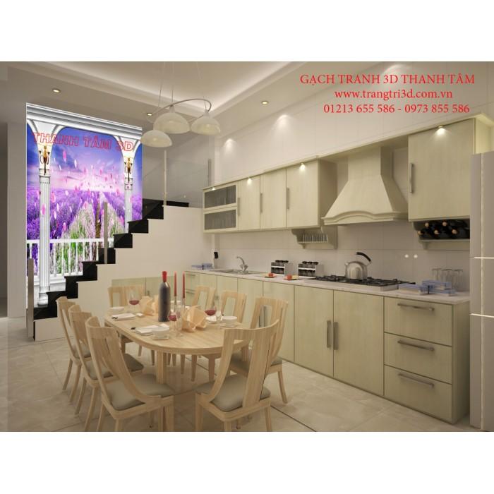 Gạch 3D Phòng Khách -T2135