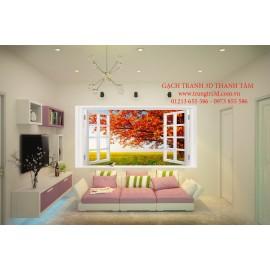 Gạch 3D Phòng Khách -T2136