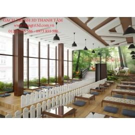 Gạch 3D Phòng Khách -T2137