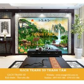 Gạch 3D Phòng Khách -T2226